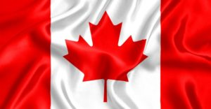 This is a Canadian Flag